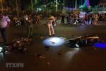 Xe máy đấu đầu khiến một người chết, hai người nguy kịch