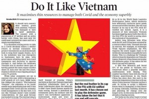 Báo Ấn Độ: 'Hãy học theo Việt Nam'