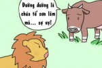Sư tử sợ vợ nhưng vẫn to mồm