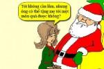 Khi ông già Noel bị gái đẹp đòi quà