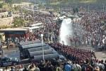 Cảnh sát Myanmar phun vòi rồng giải tán biểu tình