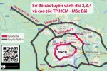 Nghiên cứu phương án đầu tư đường vành đai 100 ngàn tỉ đồng ở TP.HCM