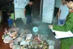 Nội tạng trâu bò mốc xanh giá… 2.000 đồng/kg