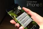 Cận cảnh iPhone 8 đẹp rụng rời với màn hình cong tinh tế