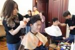 Xuân Trường để kiểu tóc 'bát úp' khiến fan bật cười