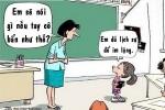 Cô giáo 'đứng hình' trước lời đáp trả của học trò