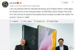 CEO Xiaomi: 'Mi Mix 2 sẽ có màn hình lớn hơn nữa'