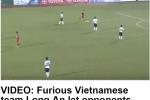 Truyền thông thế giới châm biếm V.League lố bịch, điên rồ