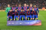 Hiện tượng xảy ra lần đầu tiên trong lịch sử Barca
