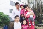 Lý Hải: 'Vợ chồng tôi bơ phờ vì quay cuồng với 4 đứa nhỏ'