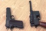 Hai khẩu súng trong hành lý khách từ Hong Kong về Tân Sơn Nhất