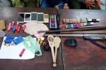 20 cảnh sát ập vào lán buôn ma túy giữa rừng