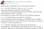 Các hãng hàng không âm thầm tăng giá vé, phí dịch vụ