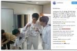 Seungri Big Bang tặng phở và gỏi cuốn Việt Nam cho nhóm nhạc đàn em