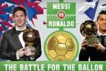Messi tức giận vì Ronaldo có lợi thế giành Quả bóng vàng