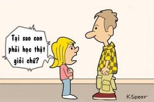 Bố bất ngờ với định nghĩa nhân tài của con gái