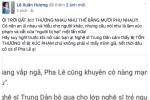"""Phát ngôn không cẩn trọng, Pha Lê bị Xuân Hương """"sửa lưng"""""""