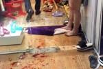 Đôi nam nữ bị chém trọng thương ngay tiệm thời trang giữa Hà Nội