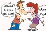 Vợ lên chức bà ngoại vì chồng lỡ lời