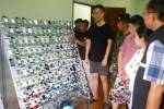 Clickfarm với 400 iPhone, 300.000 SIM bị phá tại Thái Lan