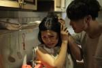 Phương Thanh bị đánh bầm dập trong phim mới
