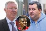 Sir Alex Ferguson sỉ nhục người đại diện của Pogba