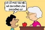 Lý do giáo viên không thể phạt học trò