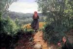 Bức họa từ thế kỷ 19 gây xôn xao với hình ảnh cô gái cầm smartphone