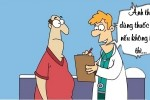 Trộm choáng trước lời khuyên của bác sĩ