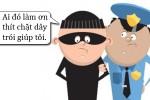 Lý do tên trộm yêu cầu được trói chặt hơn