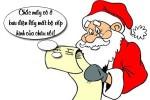 Cậu bé tức giận vì bị ăn chặn quà Noel