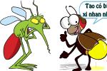Khi muỗi và đom đóm tham gia giao thông