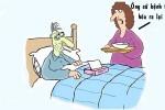 Chồng sống lâu nhờ bệnh tật