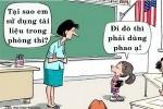 Lý do học trò dùng phao thi