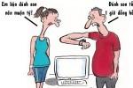 Son chống trễ hẹn cho bạn gái