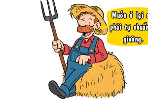 Lòng tốt của bác nông dân