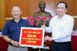 HLV Park ủng hộ 5.000 USD