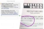 Chiêu giả mạo Western Union lừa người bán hàng online