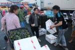 Rau quả Trung Quốc ùn ùn về Việt Nam đón Tết